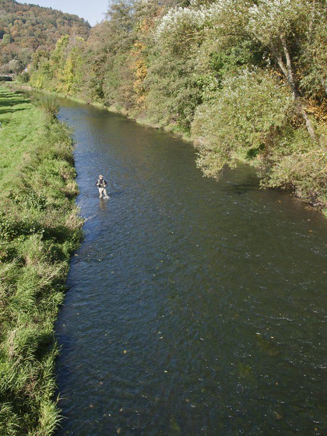 Vliegvissen in Thüringen (Hyppo Wanders)