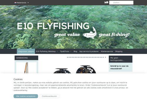 E 10 Fly fishing