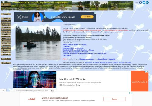 Vliegvissen in Europa(stekken en zo)